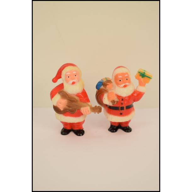 To glade vintage julemænd