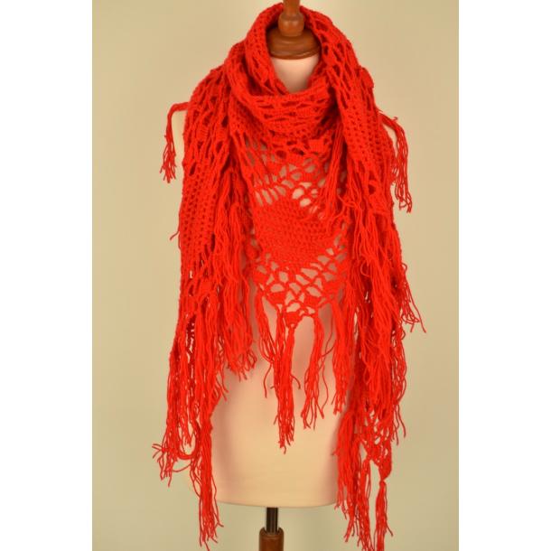 Vintage tørklæde/sjal