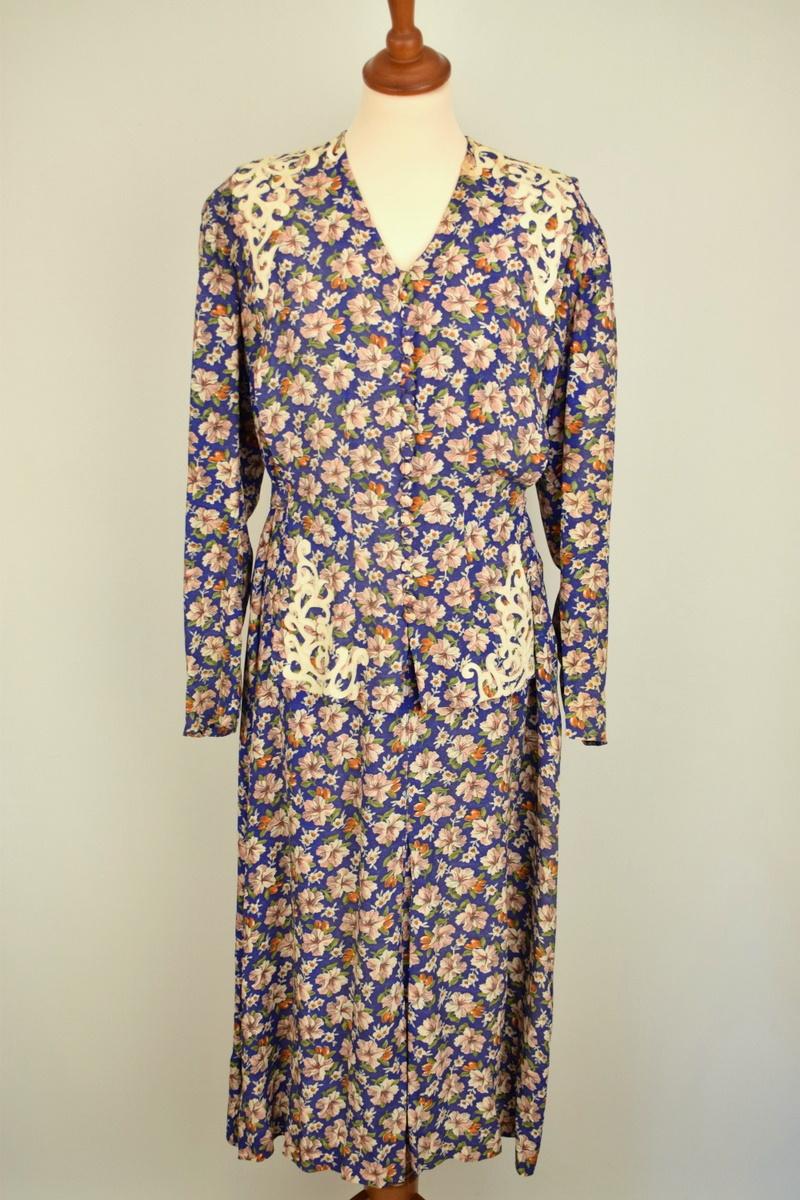 Vintage kjole fra 1940erne