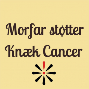 Morfar støtter Knæk Cancer 2017