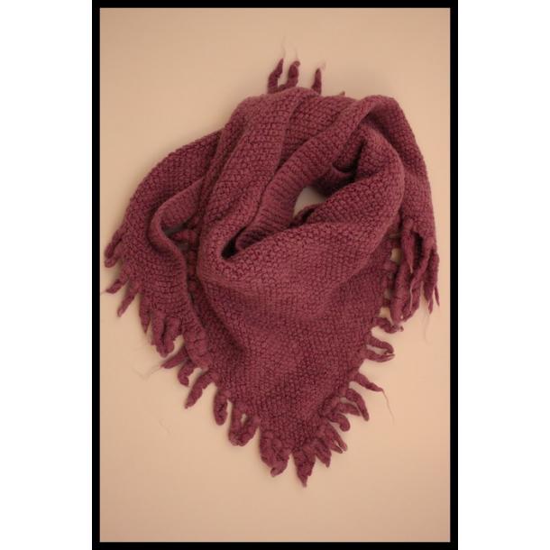 Strikket vintage halstørklæde/sjal